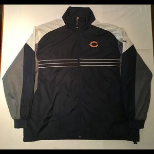 Reebok SI Chicago Bears Jacket NFL Team Apparel